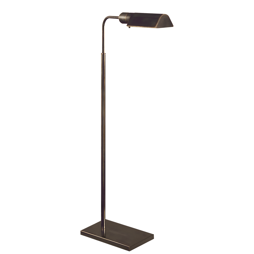 Studio Adjustable Floor Lamp - Bronze
