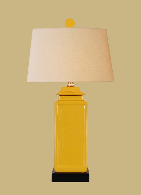 Yellow Jar Lamp