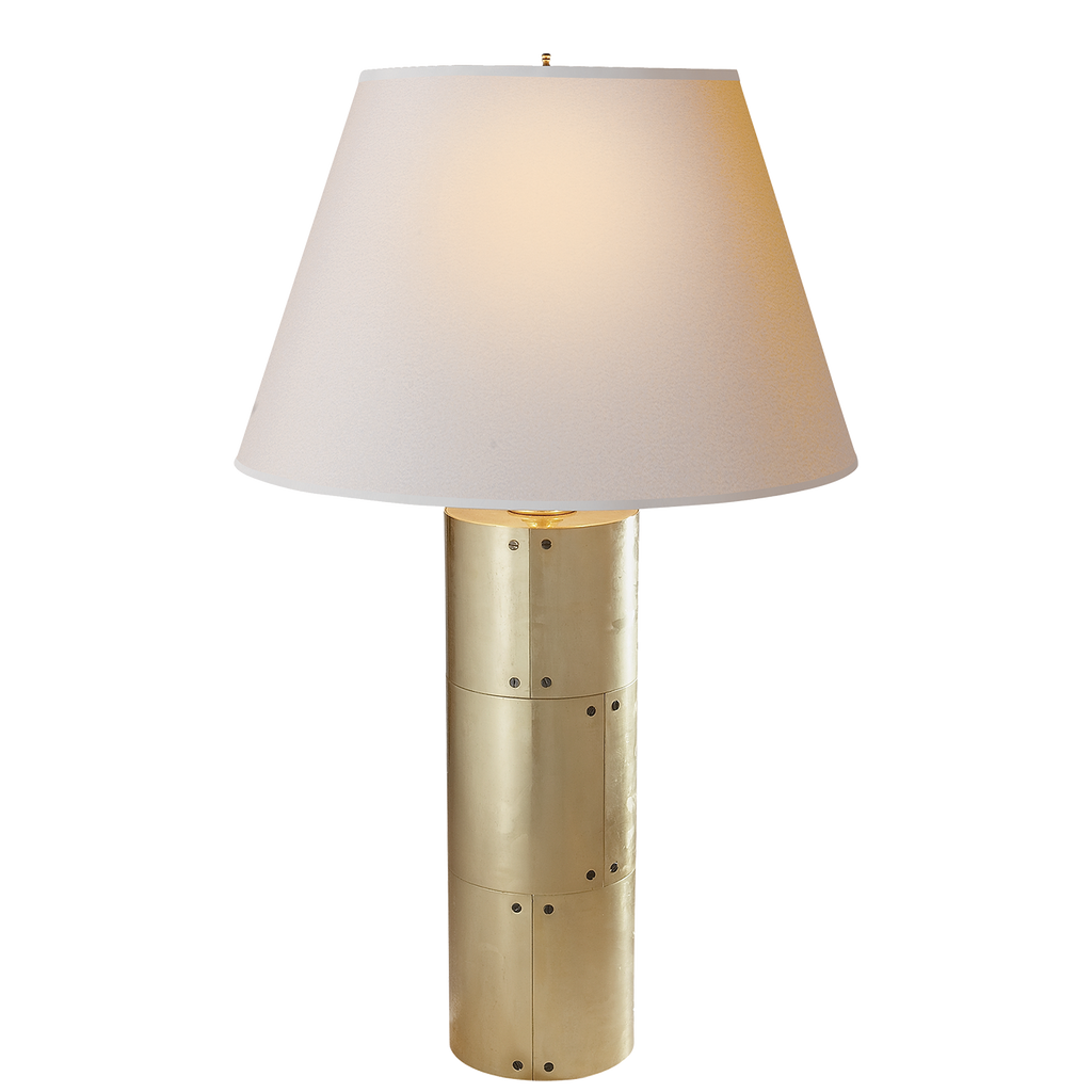 Yul Table Lamp - Natural Brass