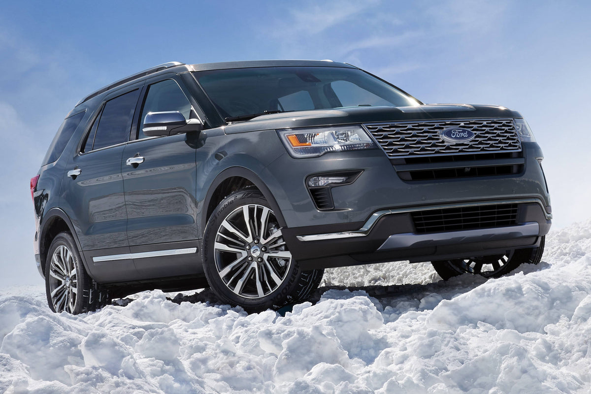 2019 Ford Explorer Seating Capacity