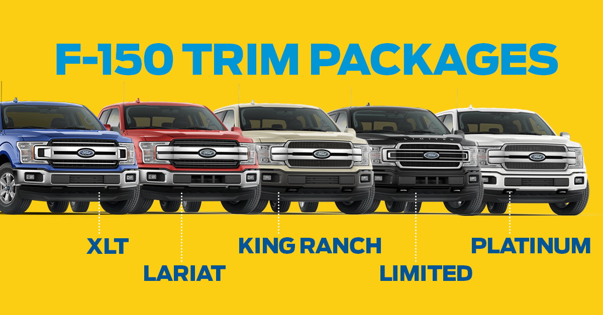 2018 Ford F-150 Trim Level Comparisons