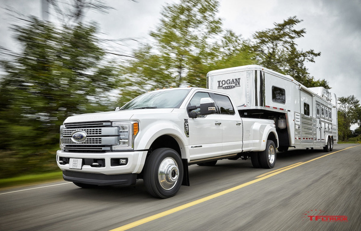 What is the towing capacity of 2018 F-250? (Part 2)