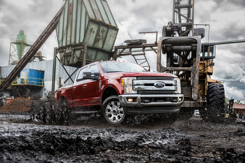 The Fx4 Off-Road Package for the Ford F-150 and Super Duty
