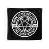 Iron is My Religion - 3'x3' Flag - THE IRON UNION