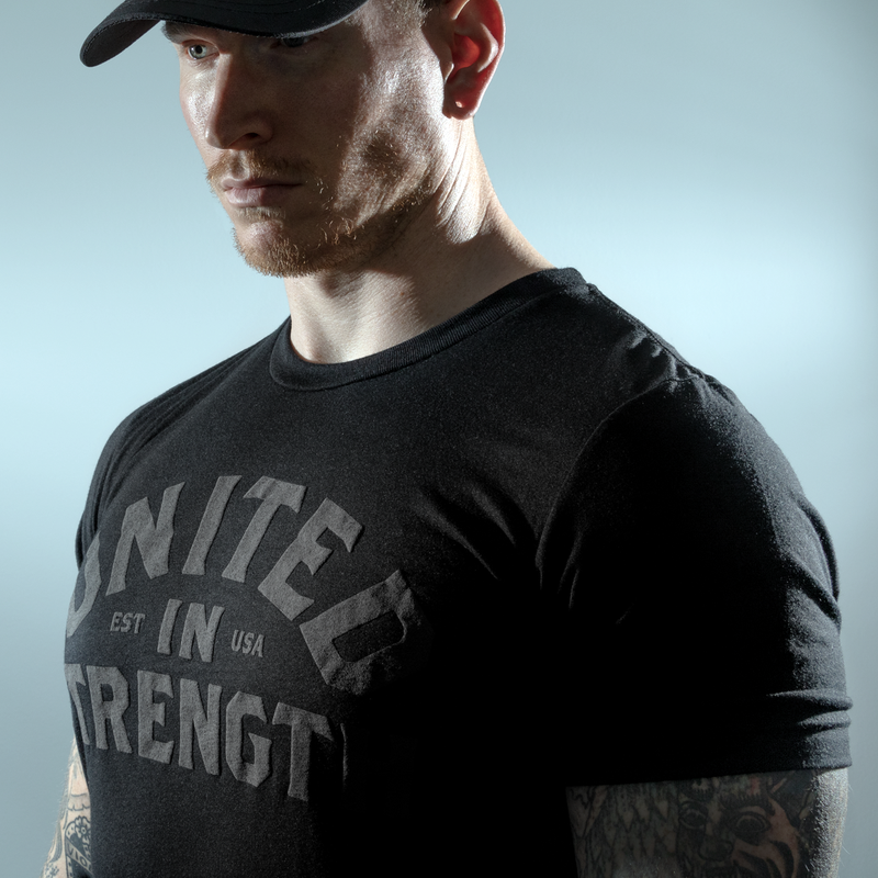 002. United In Strength Ghost Edition - Black - THE IRON UNION