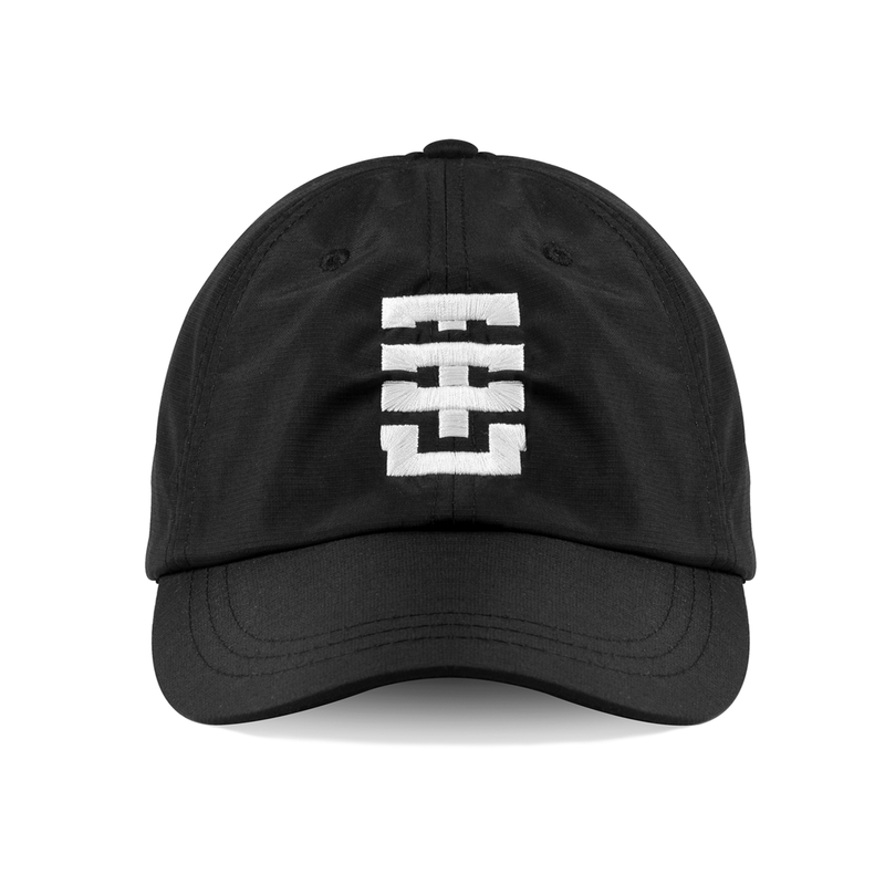 005. Monogram Weatherproof Coolmax® Training Hat - Black/White - THE IRON UNION