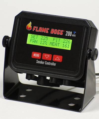 Flame Boss 200-WiFi Kamado Smoker Controller *Fits Big Green Egg, Smokey Joes, And More...