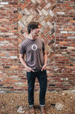 Men's Brown Drop T-shirt