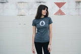 Women's Charcoal Drop T-shirt