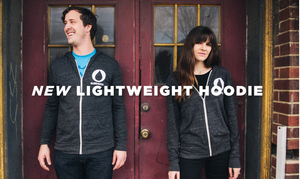 New Lightweight Hoodies