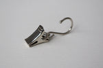 Stainless Steel Curtain Hook Clips Ø16mm (Pack of 10)