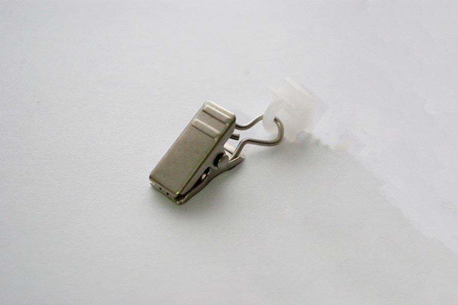 Antique Silver Curtain Clips for Tracks (Pack of 10)