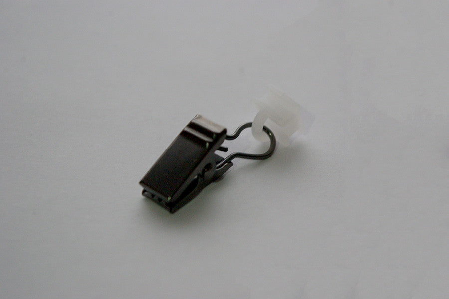 Black Curtain Clips for Tracks (Pack of 10)