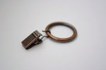 Antique Copper Curtain Ring Clips Ø30mm (Pack of 10) - GNTS Decor