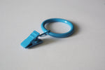 Blue Curtain Ring Clips Ø30mm (Pack of 10)
