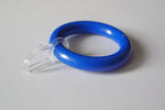 Blue Curtain Ring Clips Ø55mm/Ø30mm (Pack of 10) - GNTS Decor