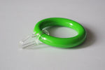 Green Curtain Ring Clips Ø55mm/Ø30mm (Pack of 10) - GNTS Decor