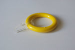 Yellow Curtain Ring Clips Ø55mm/Ø30mm (Pack of 10) - GNTS Decor