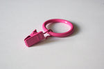 Pink Curtain Ring Clips Ø30mm (Pack of 10) - GNTS Decor
