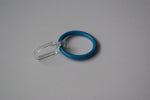 Blue Curtain Ring Hooks Ø30mm (Pack of 10)