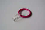 Pink Curtain Ring Hooks Ø30mm (Pack of 10)