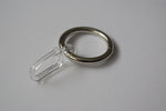 Stainless Steel Curtain Ring Hooks Ø30mm (Pack of 10)