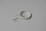 White Curtain Ring Hooks Ø30mm (Pack of 10)