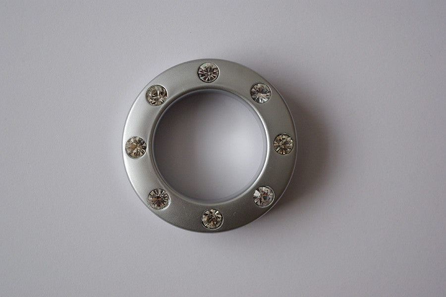 Curtain eyelets - Silver Ø55/Ø35mm (Pack of 1)
