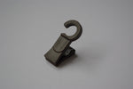 Plastic Curtain Hook Clips - Dark Oak Ø10mm (Pack of 30)