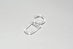 Plastic Curtain Hooks - Clear Ø10mm (Pack of 50)