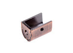 Copper Curtain Pole 'Twister' - 16mm