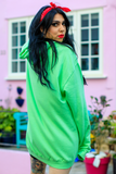Creature Club Green Oversized Hoodie