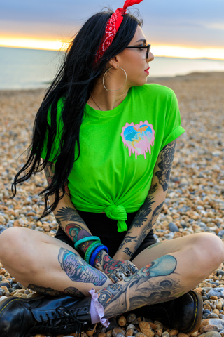 Creature Club Green Pocket Tee