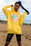 Creature Club Lemon Oversized Hoodie
