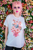 Doll Bouquet Off White Graphic Tee
