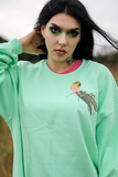 Darcy Hopper Mint Oversized Sweater