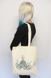 Dolloctopus Natural Tote Bag