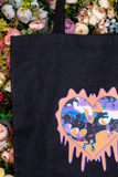 Dragon Club Black Tote Bag
