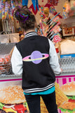 Planet Purple Candy Varsity Jacket