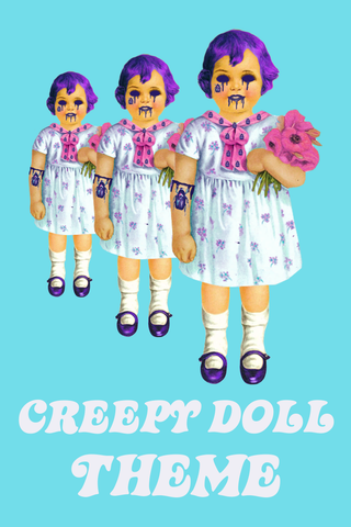 Creepy Doll Lucky Dip Box