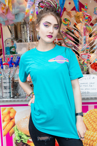 Planet Purple Candy Pocket Tee