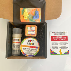 autism awareness box labels highlighted in blog