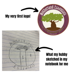 My drawing and my very first logo