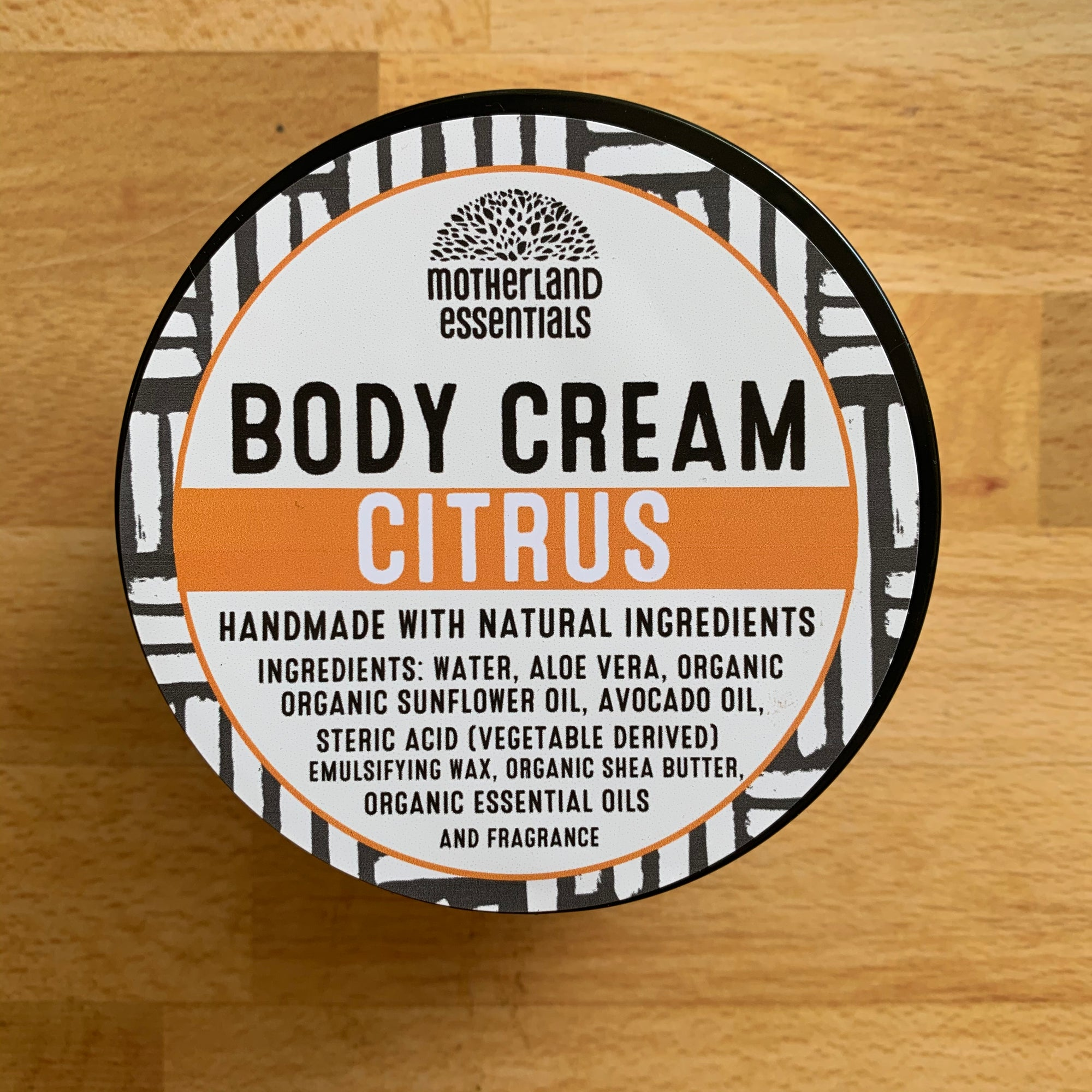 Citrus Body Cream