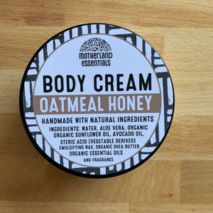 Oatmeal Honey Body Cream