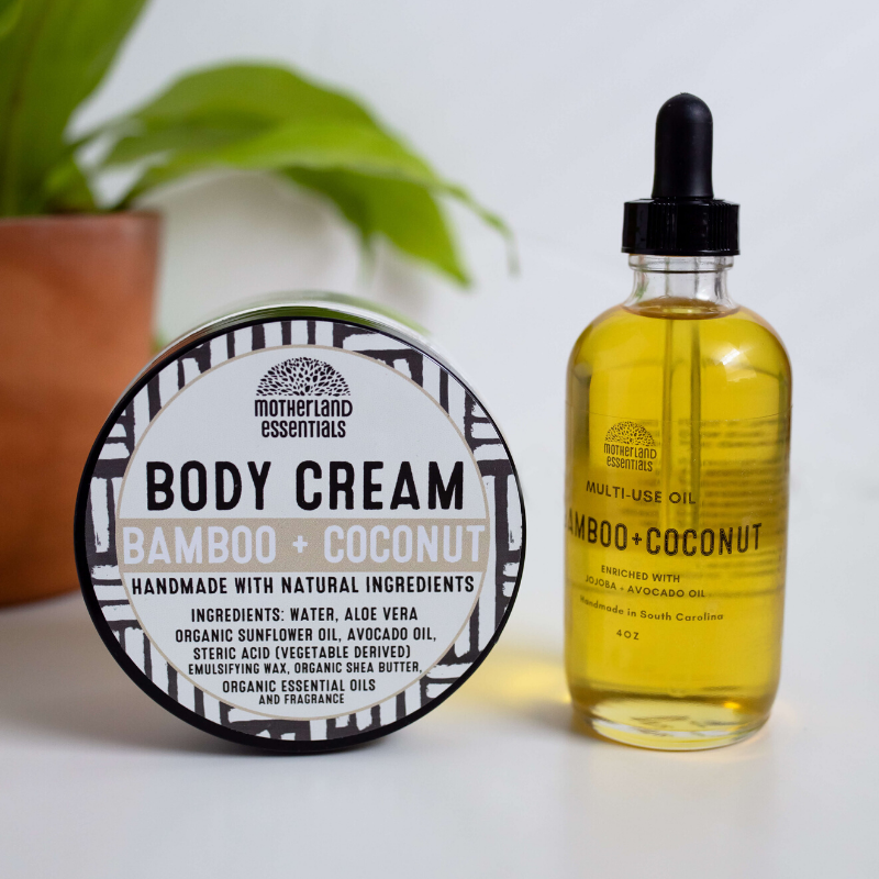 Bamboo + Coconut Body Cream