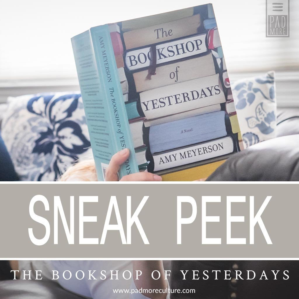 Sneak: The Bookshop of Yesterdays