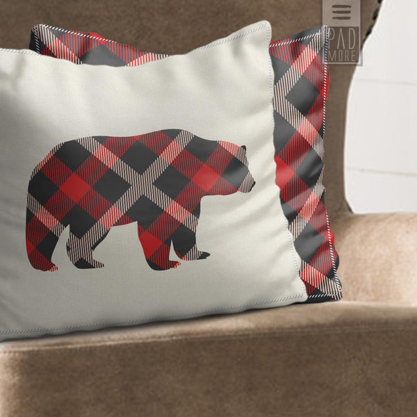 Bear Reading Pillow
