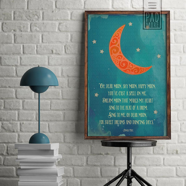 Dear Moon Wall Art
