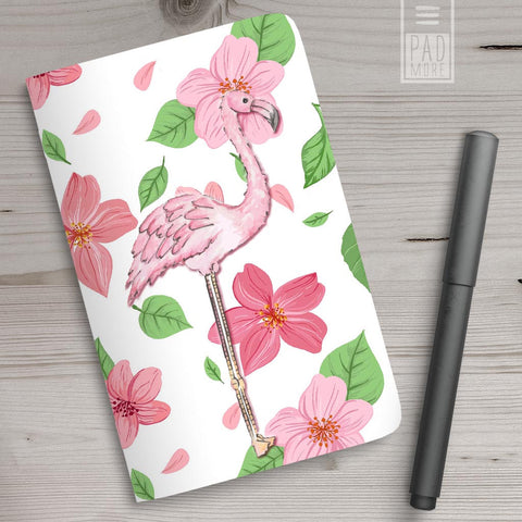 Floral Flamingo Journal